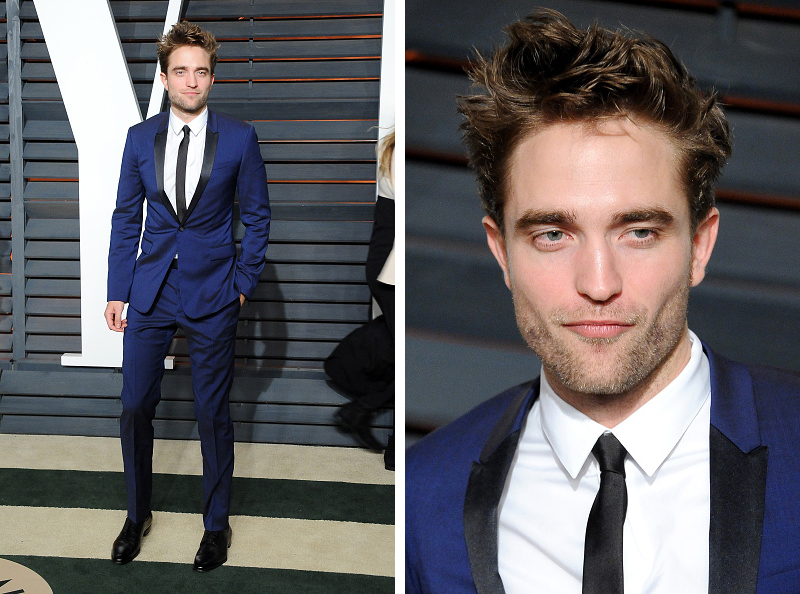 Robert-Pattinson-Vanity-Fair-Oscar-Party-2015-Dior-Homme-Blue