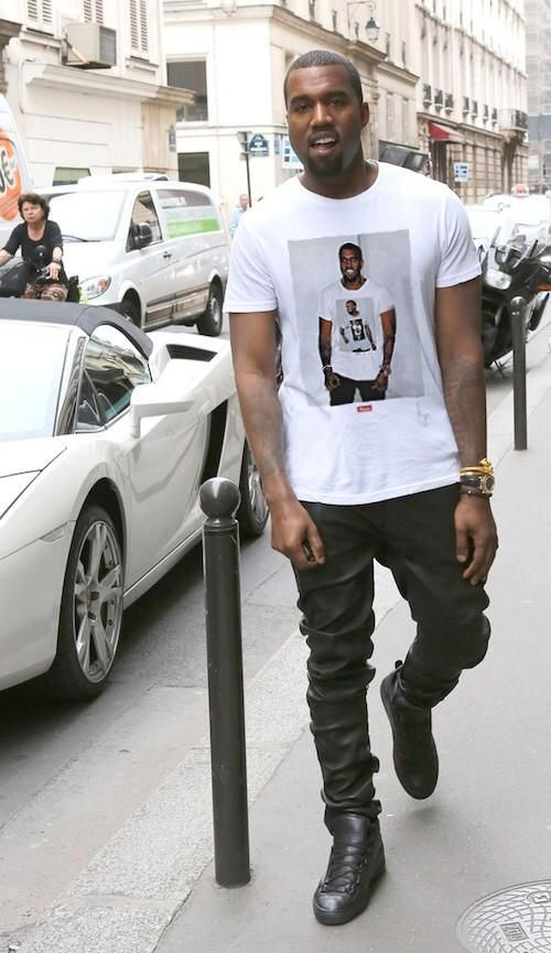 Kanye West Supreme Shirt Shop Clothing Shoes Online