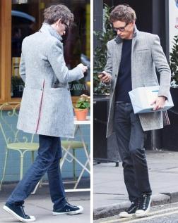Eddie-Redmayne-Gray-Thom-Browne-Coat