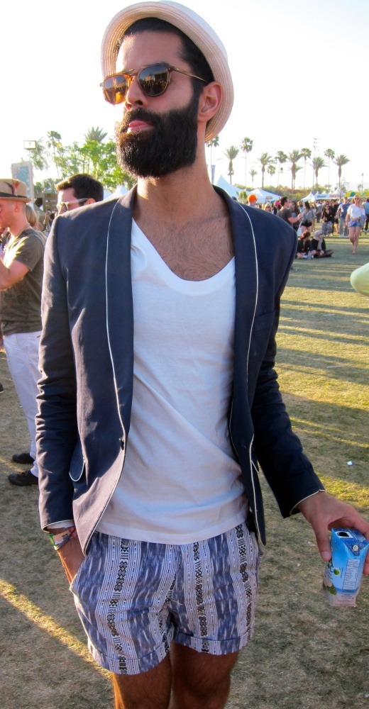 outstanding coachella outfit male