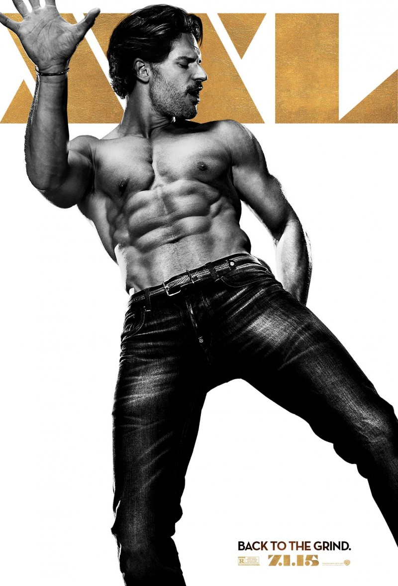 Joe-Manganiello-Big-Dick-Richie-Magic-Mike-XXL-Shirtless-Poster-800x1177