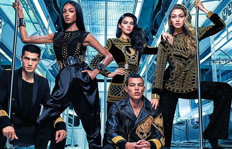 Balmain-HM-2015-Campaign-Collaboration-Picture-002