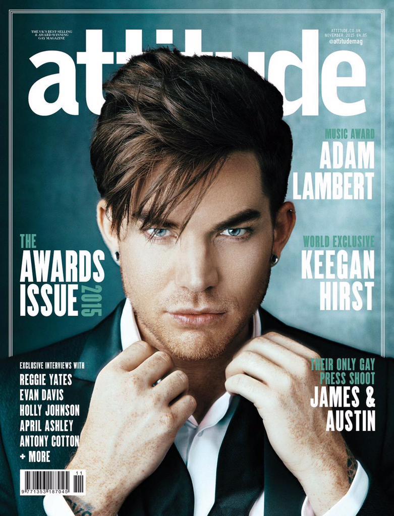 Adam-Lambert-Attitude-November-2015-Cover